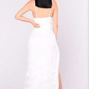 1a6adbf9c Fashion Nova Dresses - Fashion nova A Night In Tokyo Lace Dress - White